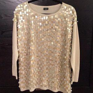 Snobby Sheep, Milano embellished sweater. Italy 44